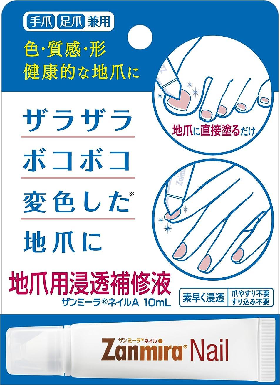 風味スライムく【Amazon.co.jp限定】 ザンミーラ ネイル A Zanmira Nail A 10ml 地爪用浸透補修液