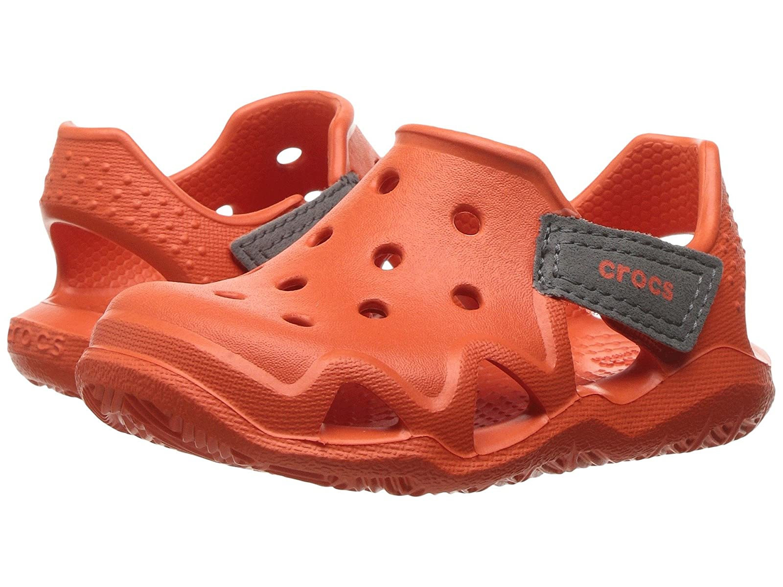 Crocs Kids Swiftwater Wave (Toddler/Little Queen Kid) /Mr/Ms/Quality Queen (Toddler/Little 5c3953