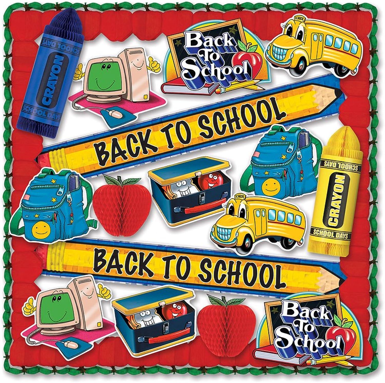 Beistle 55609 19-Piece School Days Decorating Kit