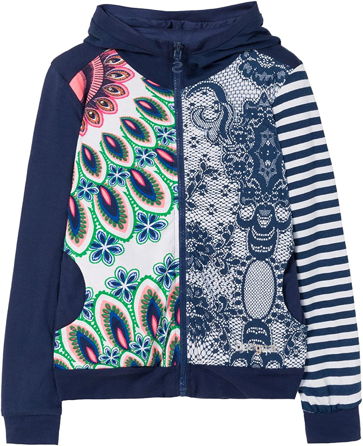 Desigual Girls Sweat_chauter Sweat Cardigan Sweater