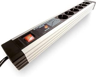 Whitenergy 08407 limitador de tensi/ón 5 Salidas AC 220-250 V 3 m Negro Regleta 5 Salidas AC, 220-250 V, 3 m, Negro