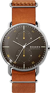 Skagen Horizont Quartz Stainless Steel Dual Timezone Casual Watch