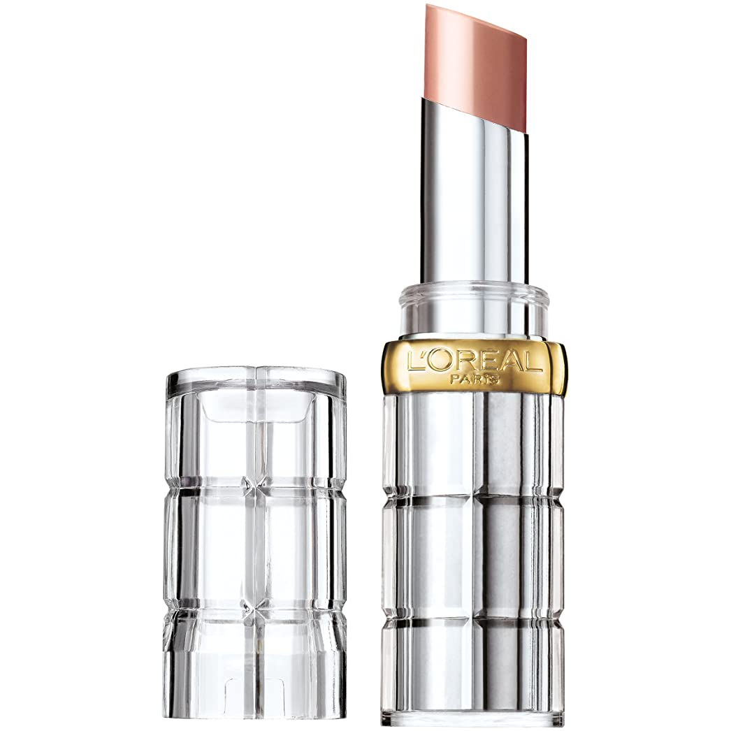 幾何学内側カリキュラムL'Oréal Colour Riche Shine Lipstick (900 GLOSSY FAWN)