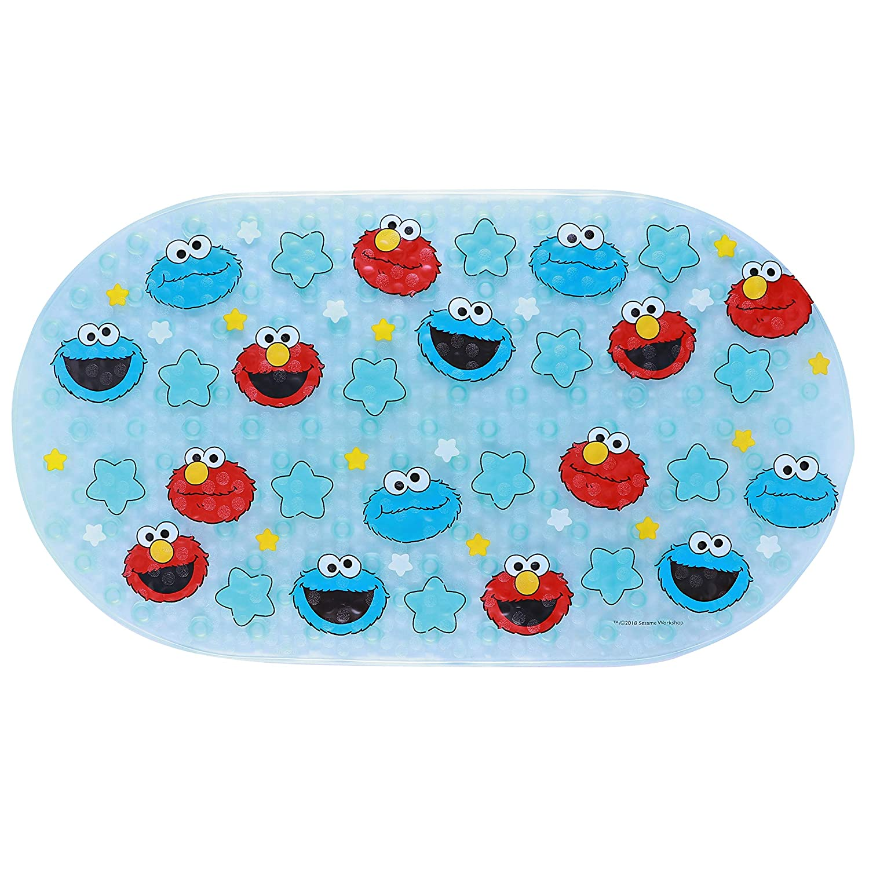 Time sale OFFicial store Sesame Street Oval Bubble Bath 27 X Mat 15.75