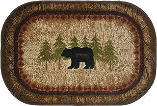 Cozy Cabin CC5282 Birch Bear Non Skid Rug 30