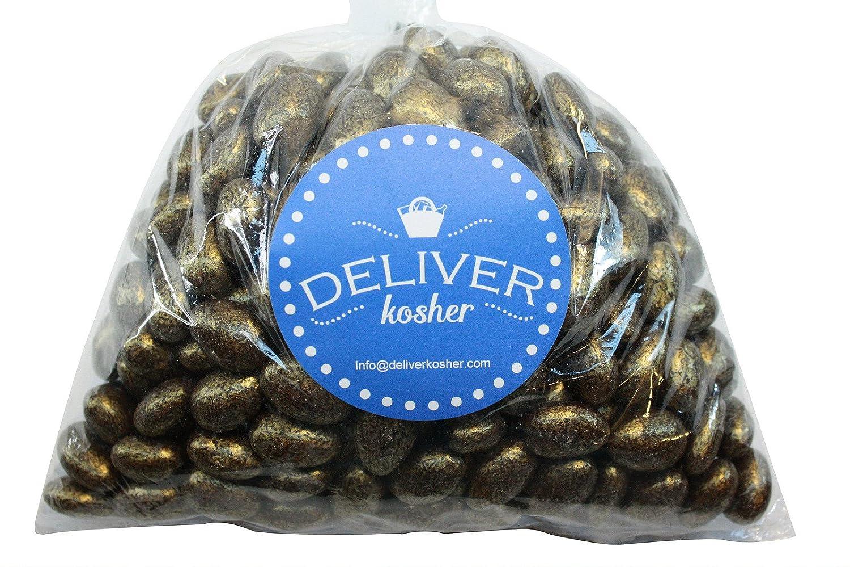 Deliver Kosher Bulk Max 83% OFF Candy - Bag Gold Almonds Chocolate 6lb Credence