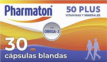 Pharmaton | Multivitamínico con Omega 3 | 50+ 30 cápsulas | Ayuda a mantener la energía a partir de los 50 años