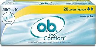 O.b. ProComfort Tampons - Regular (Average Flow, 20 Piece)