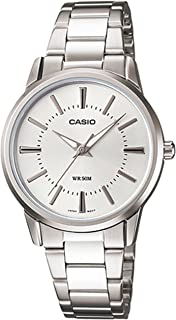 Casio Womens Quartz Watch, Analog Display and Stainless Steel Strap LTP-1303D-7AVDF