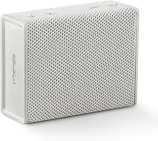 Urbanista Sydney trådlös fickhögtalare Bluetooth 5.0, 5 timmars speltid, stänksäker, bärbar – vit