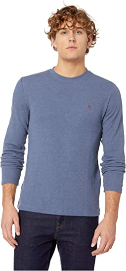 Long Sleeve Waffle T-Shirt