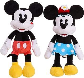 Minnie Mouse Classic Mickey & Minnie Kissing Plush
