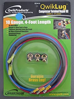 QwikLug QT2910 3 Terminal Repair Kit 10AWG 4FT LEADS W/SPADE 10 GAUGE