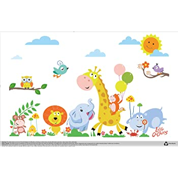 Safari Disposable Placemats for Table Top 60 Mats for Children Kids Toddlers Baby Perfect to use as Restaurants Place mats BPA Free Eco Friendly Sticks to Table Avoid Germs Fun Designs Keep Neat Now!