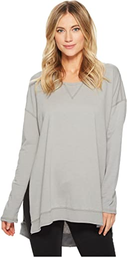 Anna Long Sleeve Sweater with Side Slits