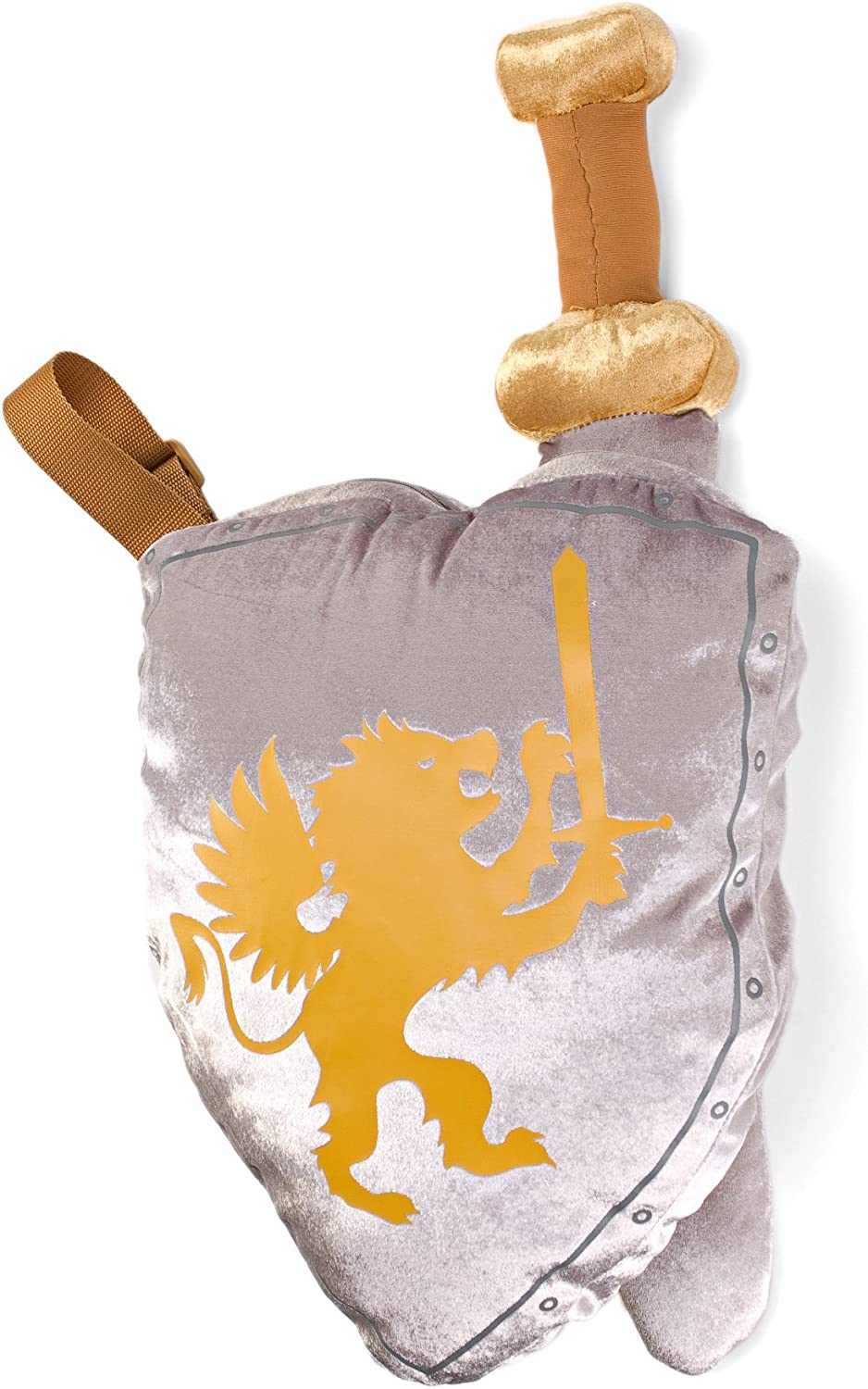 Warrior Shield and Sword Plush Toy Set