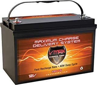 VMAX XTR31-135 Trolling Motor Battery AGM Marine Deep Cycle Group 31 12V 135Ah
