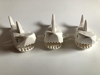 Lego 3Blanca Tiburones/3x tiburón blanco