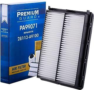 PG Air Filter PA99071 |Fits 2019 Hyundai Santa Fe, 2016-18 Santa Fe Sport, 2015-19 Kia Sedona, 2016-18 Sorento, 2020 Telluride
