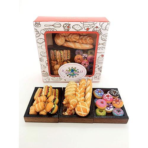 1:12 Dollhouse Miniature Simulation Food Mini LolliWith Case Holder S!