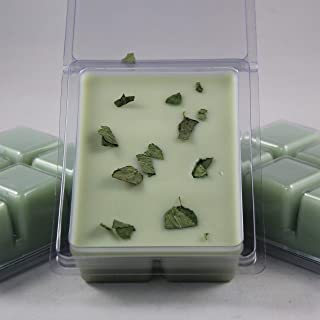 Basil Sage Mint Scented. A Unique Herbal Fusion. Soybean Blend Wax Melt. Hand Poured by Twisted Oaks Wax Works, Nebraska.