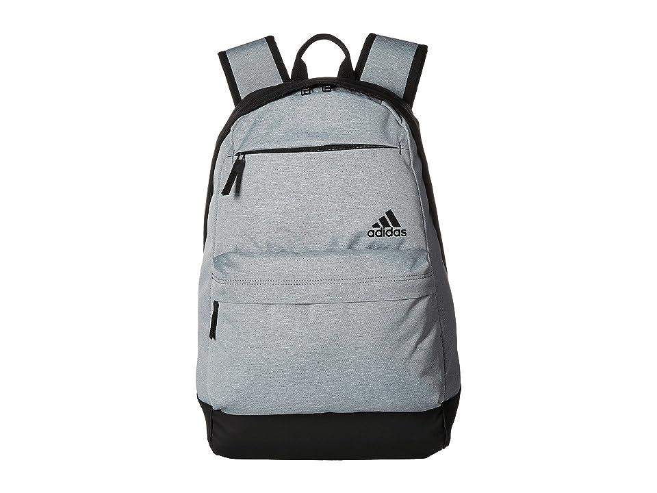 adidas Daybreak II Backpack (Grey Heather/Black) Backpack Bags