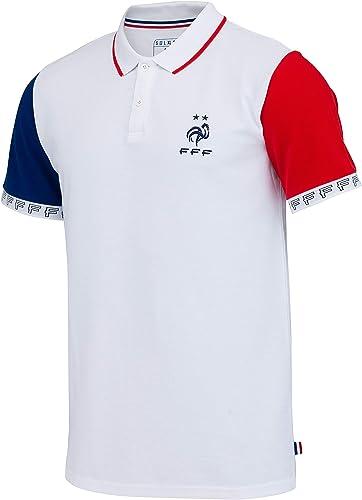 Equipe de FRANCE de football Polo FFF - Collection Officielle Taille Homme