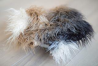 Photography props faux fur blanket/newborn photo prop blanket/fur blanket/neutral photo props/newborn girl blanket/blanket photo studio/photo props baby blanket