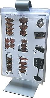 FixtureDisplasy 5x7¡± Flip Menu Holder Tabletop Bar Display Restaurante Menu Stand Special Ad 18488-FBA Fulfilment by Amazon