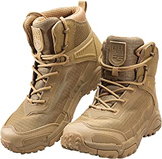 Men's Tactical Boots 6 Inches Lightweight Combat Boots Durable Hiking Boots Military Desert Boots
