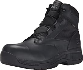 d5541b3ccd9 Magnum Stealth Force 6.0 Side-Zip Composite Toe | Zappos.com