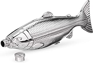 Stainless Steel Trout Flask by Foster and Rye