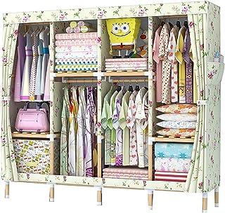 Wardrobe Organiser Locker Wardrobe Bedroom Wardrobes Assemble Cloth Wardrobe Oxford Cloth Storage Closet Hanging Closet Or...