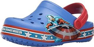 crocs crocband 美国队长洞洞鞋幼儿/小童
