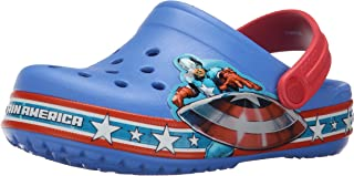 Crocs Kids' Crocband Fun Lab Captain America Clog