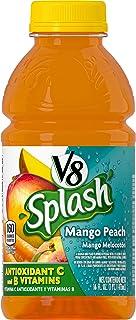 V8 Splash Mango Peach, 16 oz. Bottle (Pack of 12)