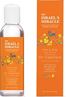 Herbal Oil Treatment- My Israel's Miracle- One and Only Super Shine and Conditioning – Powerful Organic Haircare Herbs from Israel