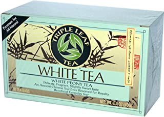 Triple Leaf, Tea White, 20 Count