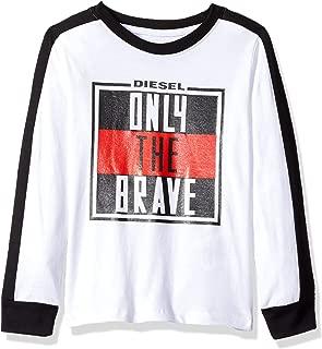Diesel Boys' Little Long Sleeve T-Shirt