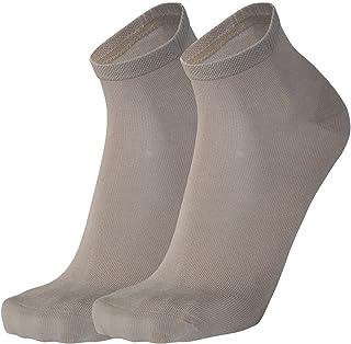 7fec7e24 Tobeni 6 Pares de Calcetines Cortos de Bambu Cuarto para Mujer y Hombre