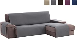 Textilhome - Funda Cubre Sofá Chaise Longue Adele,