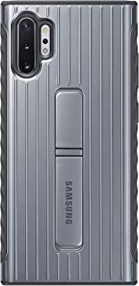 Samsung Galaxy Note10+ Case, Rugged Drop Protection Cover - Silver (US Version with Warranty)