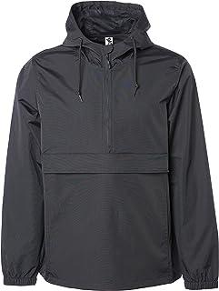 Sponsored Ad - Global Blank Men's Hooded Raincoat Waterproof Jacket Zip Up Windbreaker Anorak