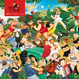 Adult Jigsaw Puzzle Beryl Cook: Good Times: 1000-piece Jigsaw Puzzles