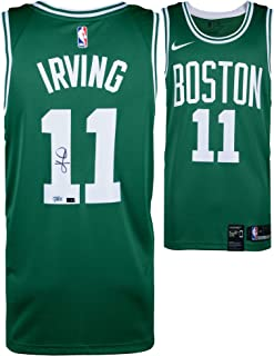 22c68ac23b9 Kyrie Irving Boston Celtics Autographed Green Nike Swingman Jersey - Panini  Authentic - Fanatics Authentic Certified