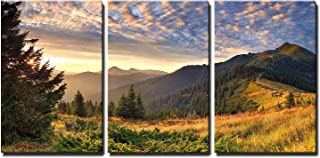 wall26 - Sunrise in The Mountains - Canvas Art Wall Decor - 24
