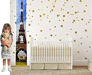growth chart wall decal