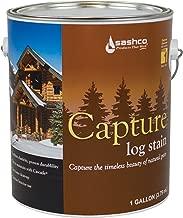 Sashco Cap-P-BP Bronze Pine Cap-P Capture Log Stain, 1 gal Can
