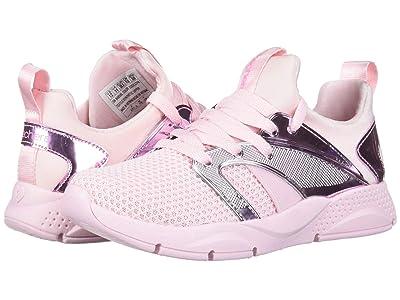 SKECHERS KIDS Shine Status 84856L (Little Kid/Big Kid) (Light Pink) Girl