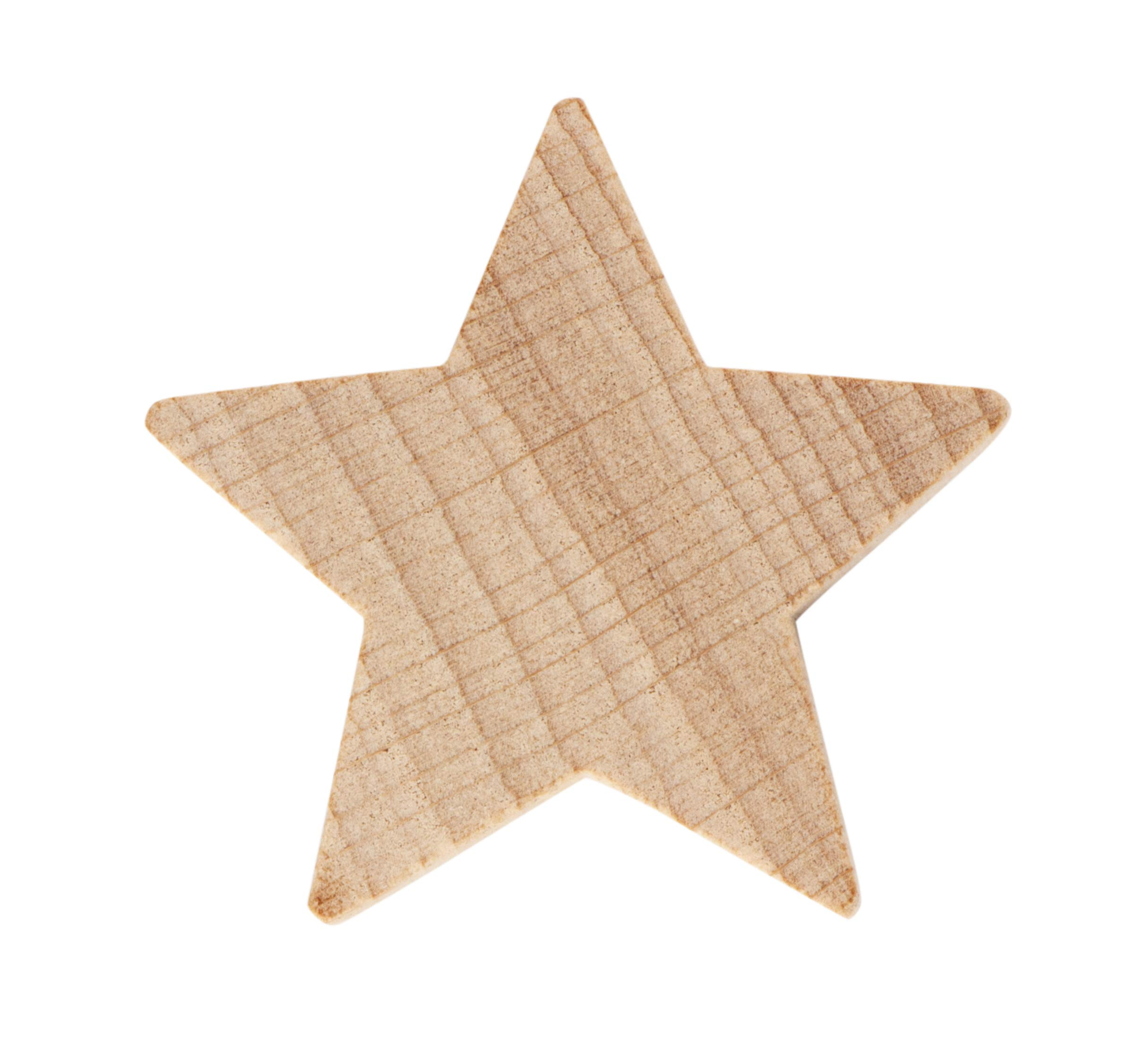 147mm x 240mm x 18mm thick //Wooden blank craft Cloud shape with 3 stars in MDF